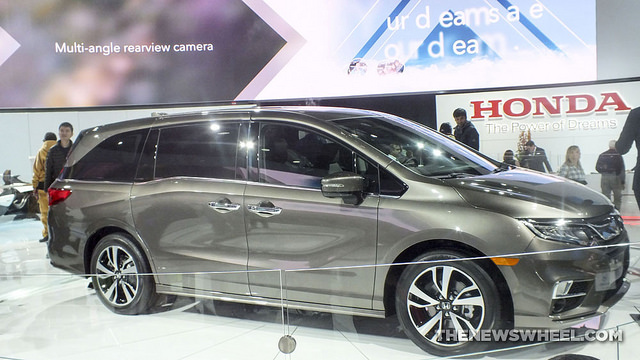 2018 Honda Odyssey at the Chicago Auto Show